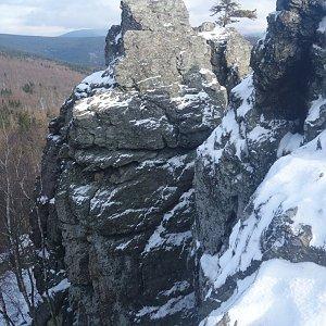 Patejl na vrcholu Rabštejn (1.3.2020 8:54)