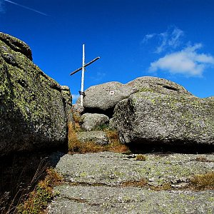 lubob na vrcholu Holubník (16.9.2012 13:00)