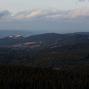 Bouřka na vrcholu Churáňovský vrch (27.1.2020 14:30)