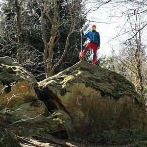 Pepino na vrcholu Klášťov (11.4.2020 10:54)