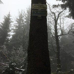 Jarek na vrcholu Klášťov (19.12.2020 11:40)