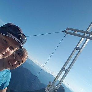 Michaela Karásková na vrcholu Hochtor (6.7.2021 18:00)