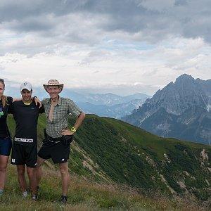 Léňa Manová na vrcholu Sonnleitenkogel (17.8.2019 11:27)