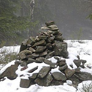 Pavel Martínek na vrcholu Černá hora (28.12.2018 11:15)