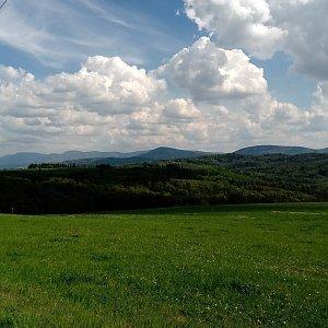 Iva Purmenská na vrcholu Puntík (30.4.2020 14:46)