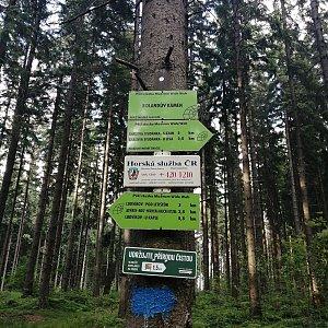 Jiří Tomaštík na vrcholu Rolandův kámen (1.7.2021 18:51)