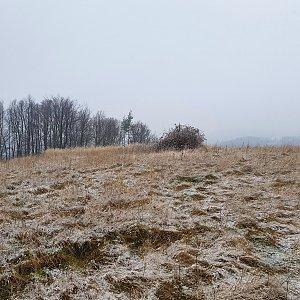 Petr Pepe Peloušek na vrcholu Králova hora (18.1.2020 15:40)
