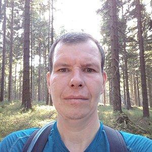 Michal Krčmář na vrcholu Smrčina (26.10.2019 14:47)