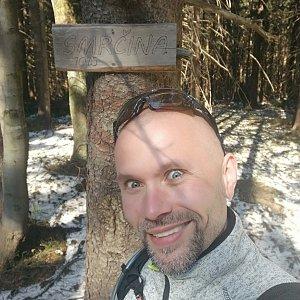 Pavel Krömer na vrcholu Smrčina (19.4.2019 15:17)