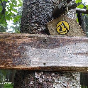 Ivana Urbánková na vrcholu Smrčina (30.8.2021 10:51)