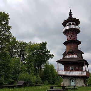 Marcela Kubíčková na vrcholu Karlův kopec (27.5.2021 16:45)