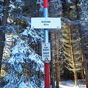ŠenovKK na vrcholu Beskydek (27.12.2020 10:48)