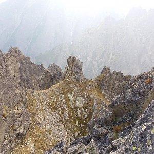 AndrejFlaj na vrcholu Lomnické sedlo (30.8.2018 16:18)