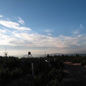 Martin Matějka na vrcholu Mrtvý vrch (9.10.2010 17:22)