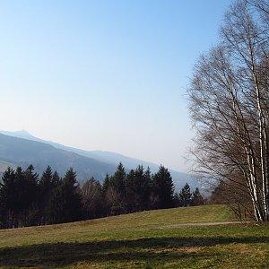 Iveta Válová na vrcholu Javorník (28.3.2020 15:47)