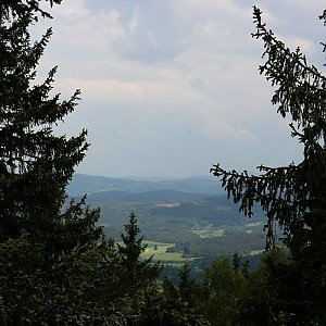 Bouřka na vrcholu Královský kámen (13.6.2020 14:42)