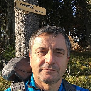 Jarek na vrcholu Čuboňov (26.10.2019 13:12)