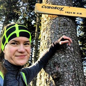 Andulka na vrcholu Čuboňov (24.11.2019 11:58)