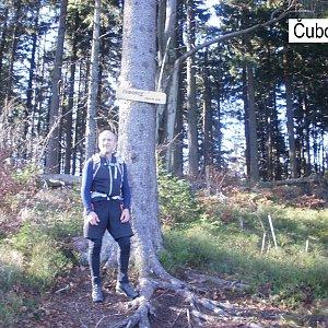 Čestmír Kubíček na vrcholu Čuboňov (24.11.2019 11:36)
