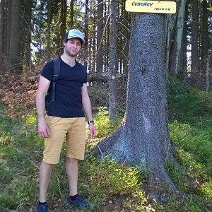 Jack Skurello na vrcholu Čuboňov (21.4.2018 15:10)