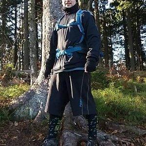 David Bunny Beil na vrcholu Čuboňov (24.11.2019 12:00)