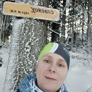 Satánek na vrcholu Čuboňov (21.1.2020 15:44)
