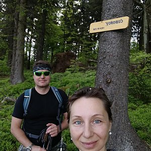 filipka na vrcholu Čuboňov (12.5.2018 12:07)