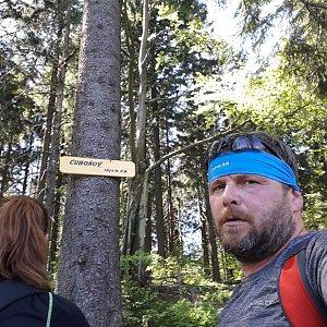 Martin a Jana Halamíčkovi na vrcholu Čuboňov (13.5.2018 13:39)