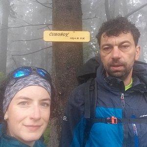 Babunka159 na vrcholu Čuboňov (14.6.2018 11:45)