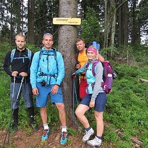 Jan Juchelka na vrcholu Čuboňov (16.6.2018 11:53)