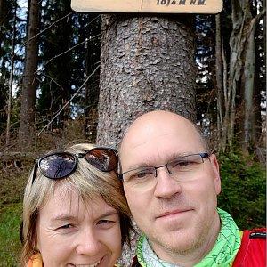 BUKY a IRČA na vrcholu Čuboňov (17.5.2020 10:03)