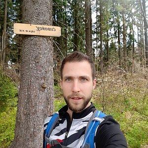 Filip Šimon na vrcholu Čuboňov (17.5.2020 12:35)