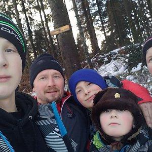 trefi.s na vrcholu Čuboňov (2.1.2021 13:00)