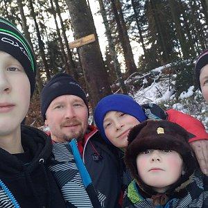 Kemo na vrcholu Čuboňov (2.1.2021 13:45)