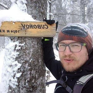 pa3k.soyka na vrcholu Čuboňov (20.1.2021 11:53)
