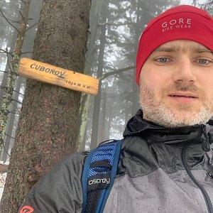 Wojtik na vrcholu Čuboňov (23.1.2021 12:02)