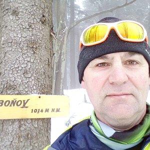 Li Be na vrcholu Čuboňov (3.3.2019 11:39)