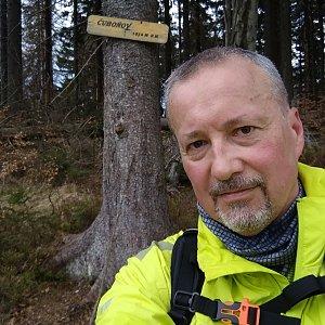 Merkys na vrcholu Čuboňov (8.5.2021 12:50)