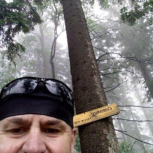 Li Be na vrcholu Čuboňov (23.6.2021 12:45)