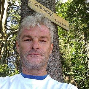 Jaroslav Macura na vrcholu Čuboňov (6.7.2021 11:27)
