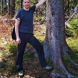PeteBukař na vrcholu Čuboňov (22.4.2019 13:14)