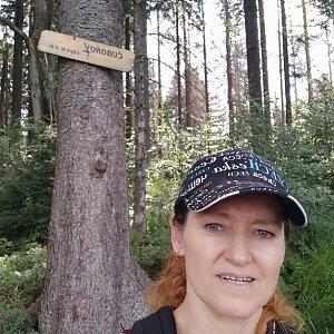 Ivana Urbánková na vrcholu Čuboňov (14.8.2021 14:59)