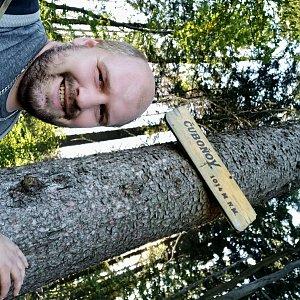 Petr Petrik na vrcholu Čuboňov (9.9.2021 16:22)