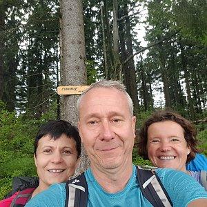 ROSA na vrcholu Čuboňov (14.7.2019 12:52)
