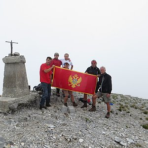 Iveta Válová na vrcholu Kom vasojevički (18.7.2014 13:57)