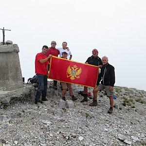 Jarda Vála na vrcholu Kom vasojevički (18.7.2014 13:57)