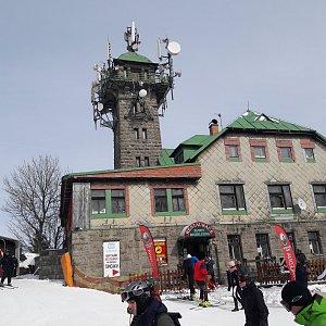 Jar Faldy na vrcholu Špičák (18.3.2018 9:51)