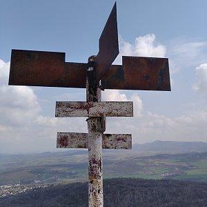 D3etre na vrcholu Bořeň (20.4.2021 11:57)