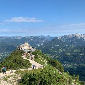 Aneta Šeráková na vrcholu Kehlstein (11.8.2019 9:19)