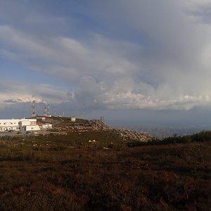 Honza na vrcholu Fóia (22.10.2019 17:34)